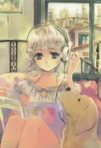 Rating: Safe Score: 21 Tags: headphones kuramoto_kaya User: hugo_victor