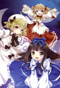 Rating: Safe Score: 21 Tags: kona luna_child star_sapphire sunny_milk touhou wings User: Elow69