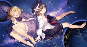 Rating: Safe Score: 57 Tags: maribel_han rie touhou usami_renko User: fairyren