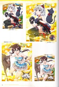 Rating: Safe Score: 7 Tags: animal_ears dress gertrud_barkhorn heels inumimi neko nekomimi sanya_v_litvyak strike_witches tagme tail thighhighs User: Nepcoheart