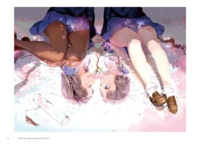 Rating: Safe Score: 42 Tags: anmi megane_shoujo pantyhose seifuku tagme yuri User: kiyoe