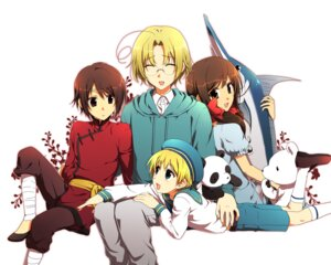 Rating: Safe Score: 3 Tags: canada hetalia_axis_powers hong_kong megane migu sealand seychelles User: Radioactive