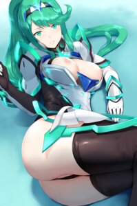 Rating: Explicit Score: 70 Tags: anus armor ass bodysuit breasts cameltoe hews nipples no_bra open_shirt thighhighs thong xenoblade xenoblade_chronicles_2 User: RyuZU