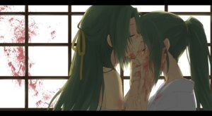 Rating: Safe Score: 25 Tags: blood higurashi_no_naku_koro_ni kl sonozaki_mion sonozaki_shion User: Radioactive