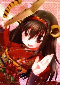 Rating: Safe Score: 10 Tags: animal_ears kimono meltdown_comet tail yukiu_con User: midzki