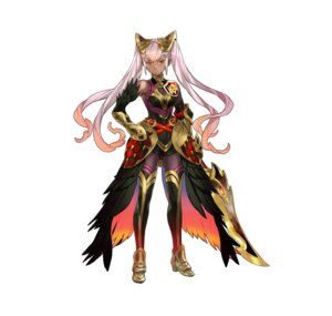 Rating: Questionable Score: 11 Tags: armor fire_emblem fire_emblem_heroes heels laevatein maeshima_shigeki nintendo sword thighhighs User: fly24