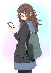Rating: Safe Score: 29 Tags: kazenoko megane pantyhose seifuku sweater User: blooregardo