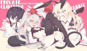 Rating: Questionable Score: 66 Tags: amatsukaze_(kancolle) animal_ears bra bunny_ears feet garter kantai_collection lingerie litsvn nekomimi pantsu panty_pull see_through shimakaze_(kancolle) string_panties tail thighhighs tokitsukaze_(kancolle) undressing yuri User: Mr_GT