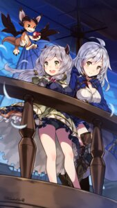 Rating: Safe Score: 51 Tags: armor cleavage granblue_fantasy horns kumuyu kuro_chairo_no_neko silva_(granblue_fantasy) User: Mr_GT