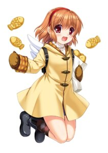 Rating: Safe Score: 11 Tags: hinoue_itaru kanon key tsukimiya_ayu wings User: marechal