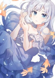 Rating: Safe Score: 16 Tags: dress ranobigi0820 shiraishi_tsumugi the_idolm@ster the_idolm@ster_million_live! User: Arsy