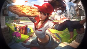 Rating: Questionable Score: 7 Tags: cleavage league_of_legends tagme uniform User: Radioactive
