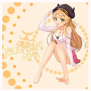 Rating: Safe Score: 18 Tags: cleavage feet hpb8642 jougasaki_rika megane the_idolm@ster the_idolm@ster_cinderella_girls User: Dreista