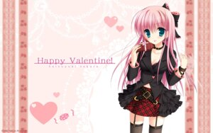 Rating: Safe Score: 50 Tags: azuma_yoru chimaro hatsuyuki_sakura jpeg_artifacts saga_planets stockings thighhighs valentine wallpaper User: bakatori