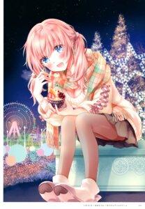 Rating: Questionable Score: 24 Tags: christmas cleavage pantyhose sweater tanimura_marika User: kiyoe