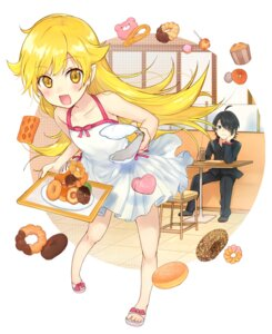Rating: Safe Score: 47 Tags: araragi_koyomi bakemonogatari dress kakizato_shinano oshino_shinobu pointy_ears seifuku User: Mr_GT