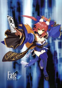 Rating: Safe Score: 37 Tags: animal_ears fate/extra fate/stay_night kitsune tamamo_no_mae thighhighs type-moon wada_rco User: Share
