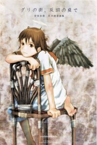 Rating: Safe Score: 6 Tags: abe_yoshitoshi haibane_renmei rakka wings User: Davison