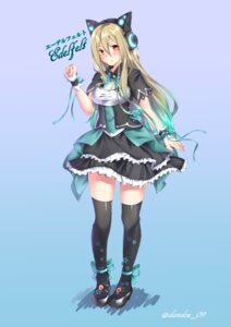 Rating: Safe Score: 29 Tags: animal_ears cleavage headphones heels phantasy_star_online_2 tagme thighhighs User: fairyren