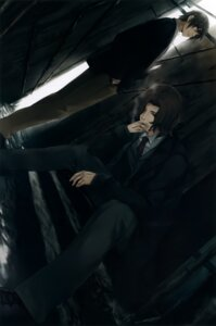 Rating: Safe Score: 10 Tags: business_suit kara_no_shoujo male smoking sugina_miki tagme tokisaka_reiji User: Hatsukoi