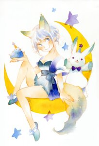 Rating: Safe Score: 1 Tags: animal_ears dress miggy tail User: fireattack