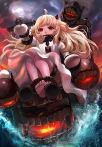 Rating: Safe Score: 40 Tags: dress feet horns kantai_collection northern_ocean_hime zhujun0431 User: Mr_GT