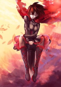 Rating: Safe Score: 33 Tags: amy_(lingll) dress pantyhose ruby_rose rwby User: zero|fade