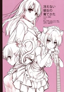 Rating: Questionable Score: 39 Tags: animal_ears cradle guitar misaki_kurehito nekomimi puffsleeve sketch User: Twinsenzw