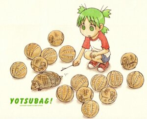 Rating: Safe Score: 7 Tags: azuma_kiyohiko koiwai_yotsuba paper_texture yotsubato! User: Radioactive