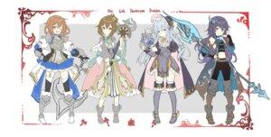 Rating: Safe Score: 23 Tags: akatsuki_(kancolle) armor dress hibiki_(kancolle) ikazuchi_(kancolle) inazuma_(kancolle) kantai_collection shiosoda stockings thighhighs weapon User: fairyren