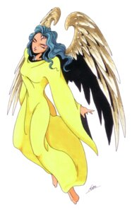 Rating: Safe Score: 2 Tags: angel angel_(megaten) kaneko_kazuma megaten shin_megami_tensei User: Radioactive