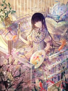 Rating: Safe Score: 40 Tags: akemi_homura bai_qi-qsr dress puella_magi_madoka_magica User: Mr_GT