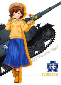 Rating: Safe Score: 6 Tags: girls_und_panzer heels sweater tagme tsuchiya_(girls_und_panzer) User: drop