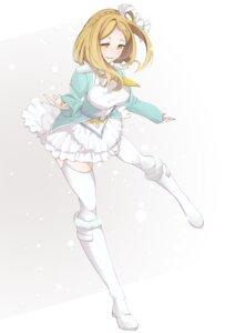 Rating: Safe Score: 20 Tags: heels komiyama_(user_ycnc3474) love_live!_sunshine!! ohara_mari stockings thighhighs User: saemonnokami