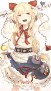 Rating: Safe Score: 18 Tags: ibuki_suika touhou yuu-rin User: dyj