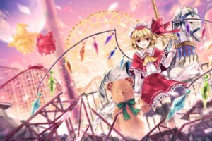 Rating: Safe Score: 22 Tags: 6u flandre_scarlet thighhighs touhou wings User: fairyren