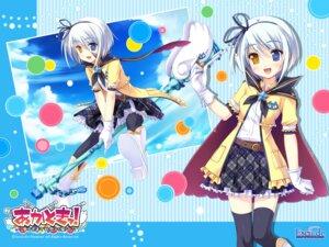 Rating: Safe Score: 19 Tags: akatoki! escu:de heterochromia kurushima_lily sasai_saji wallpaper User: maurospider