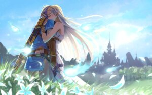 Rating: Safe Score: 22 Tags: dress link otton pointy_ears princess_zelda sword the_legend_of_zelda the_legend_of_zelda:_breath_of_the_wild User: charunetra