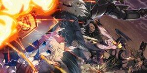 Rating: Safe Score: 15 Tags: armor miyamori pixiv_fantasia_v sword User: hobbito