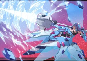 Rating: Safe Score: 35 Tags: infinite_stratos mecha_musume okiura sarashiki_tatenashi upscaled User: Radioactive
