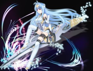 Rating: Safe Score: 16 Tags: kos-mos ohse thighhighs xenosaga User: Radioactive