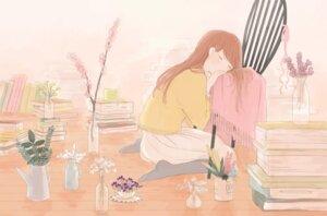 Rating: Safe Score: 13 Tags: haruko_(milk_tea) pantyhose sweater User: charunetra