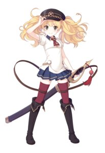 Rating: Safe Score: 20 Tags: garter sword tagme thighhighs uniform User: edh111