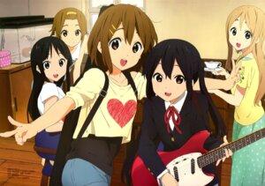 Rating: Safe Score: 60 Tags: akiyama_mio guitar hirasawa_yui horiguchi_yukiko k-on! kotobuki_tsumugi nakano_azusa seifuku tainaka_ritsu User: drop