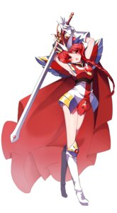 Rating: Safe Score: 27 Tags: armor briska magic_knight_rayearth shidou_hikaru sword User: charunetra