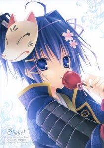 Rating: Safe Score: 34 Tags: allegro_mistic armor kajiri_kamui_kagura male mibu_soujirou takano_yuki User: admin2