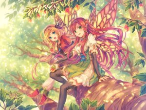 Rating: Safe Score: 63 Tags: fairy natsu_natsuna pointy_ears thighhighs wings User: syuki144