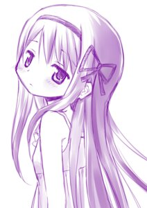 Rating: Safe Score: 17 Tags: akemi_homura monochrome puella_magi_madoka_magica sketch tsubaki_(tatajd) User: Radioactive