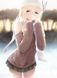 Rating: Safe Score: 55 Tags: boku_wa_tomodachi_ga_sukunai cait kashiwazaki_sena sweater User: Mr_GT