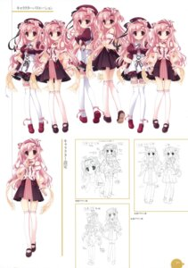 Rating: Safe Score: 17 Tags: 11eyes azuma_shione character_design garter seifuku thighhighs youta User: crim